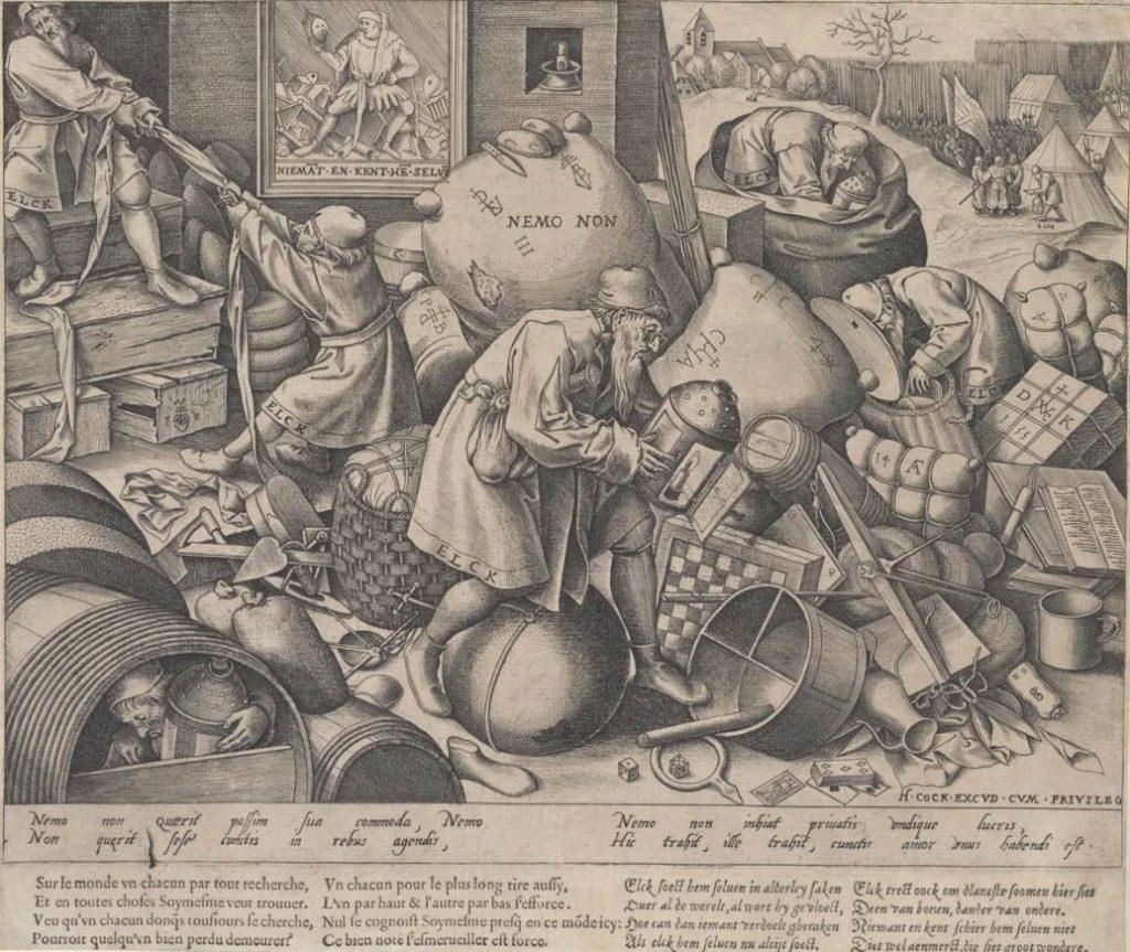 Pieter van der Heyden naar Pieter Bruegel - Elck (