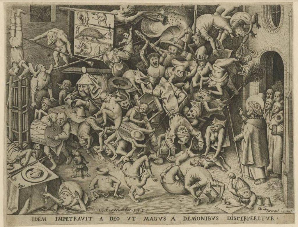 Pieter Bruegel, De val van Hermogenes, 1565 (Rijksmuseum)