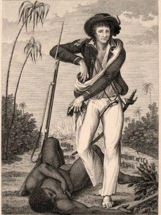 John Gabriel Stedman bij een weggelopen slaaf