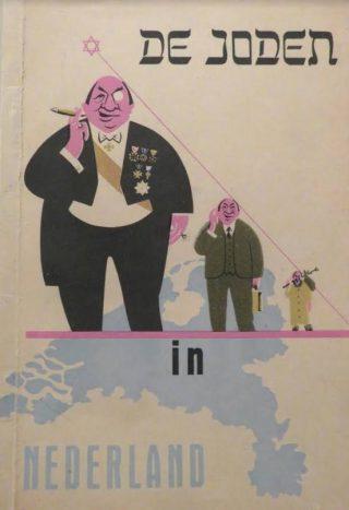 Voorbeeld van een antisemitisch boek: 'De joden in Nederland' - auteur onbekend
