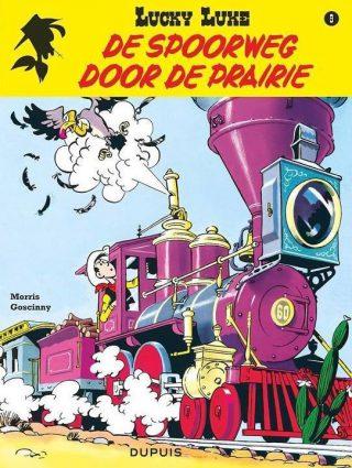 Lucky Luke-album 'Spoorweg door de prairie' - Morris /  Goscinny
