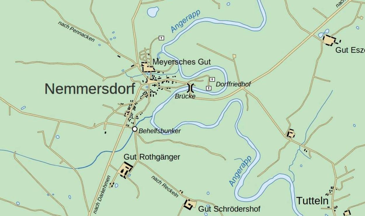 Nemmersdorf in oktober 1944