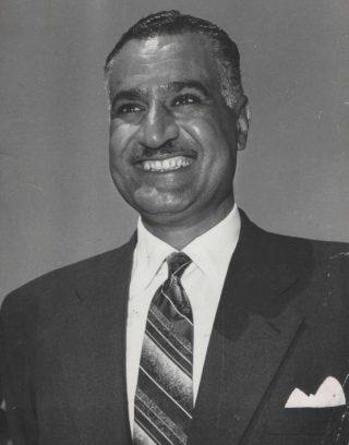 Gamal Abdel Nasser in 1962
