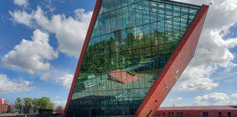 Het Museum van de Tweede Wereldoorlog in Gdansk