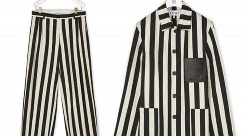Het pak zoals dat door Loewe werd verkocht