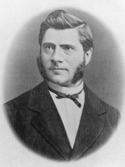Matthías Jochumsson, auteur van het volkslied van IJsland