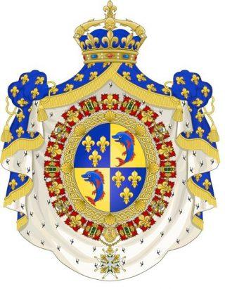 Wapenschild van de Dauphins van Frankrijk