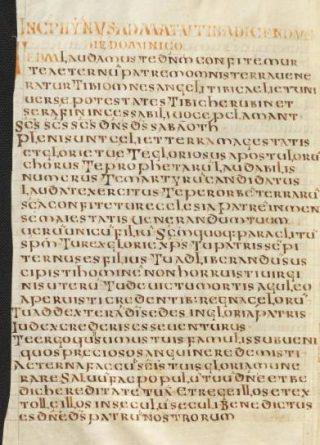 Latijnse tekst van het Te Deum