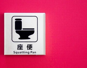 'Poepchinees' - Chinees toilet