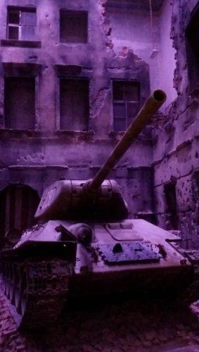 T-34 Tank in het museum in Gdansk