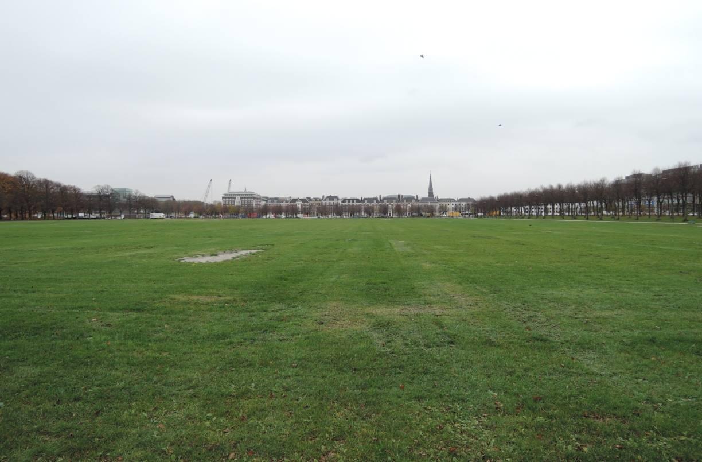 Het Malieveld in Den Haag