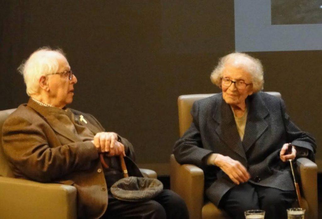 Jacques en Nicole Bloch tijdens de boekpresentatie