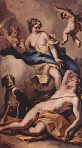 Selene en Endymion - Sebastiano Ricci