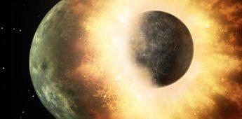 Theia, de protoplaneet die het evolutieproces van de aarde veranderde