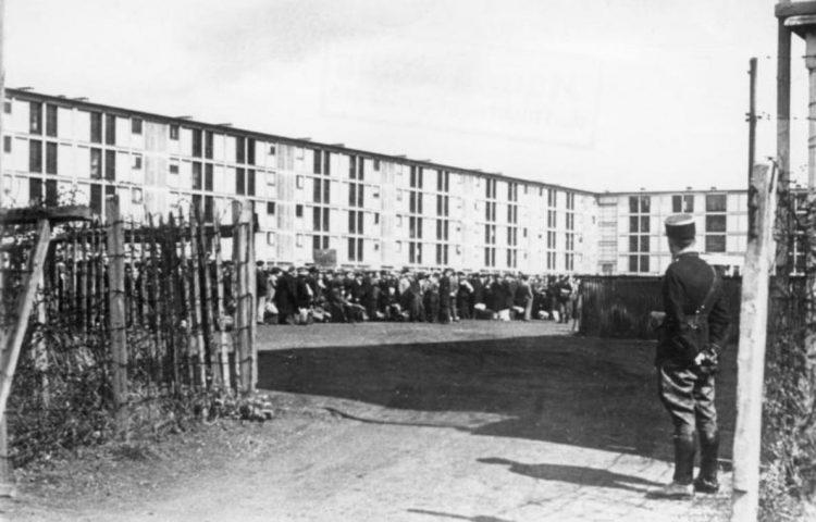 Kamp Drancy tijdens de Tweede Wereldoorlog