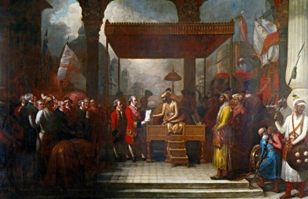 Verdrag van Allahabad, 1765