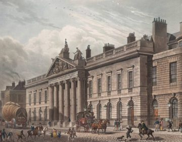 East India House in Londen - Thomas Hosmer Shepherd