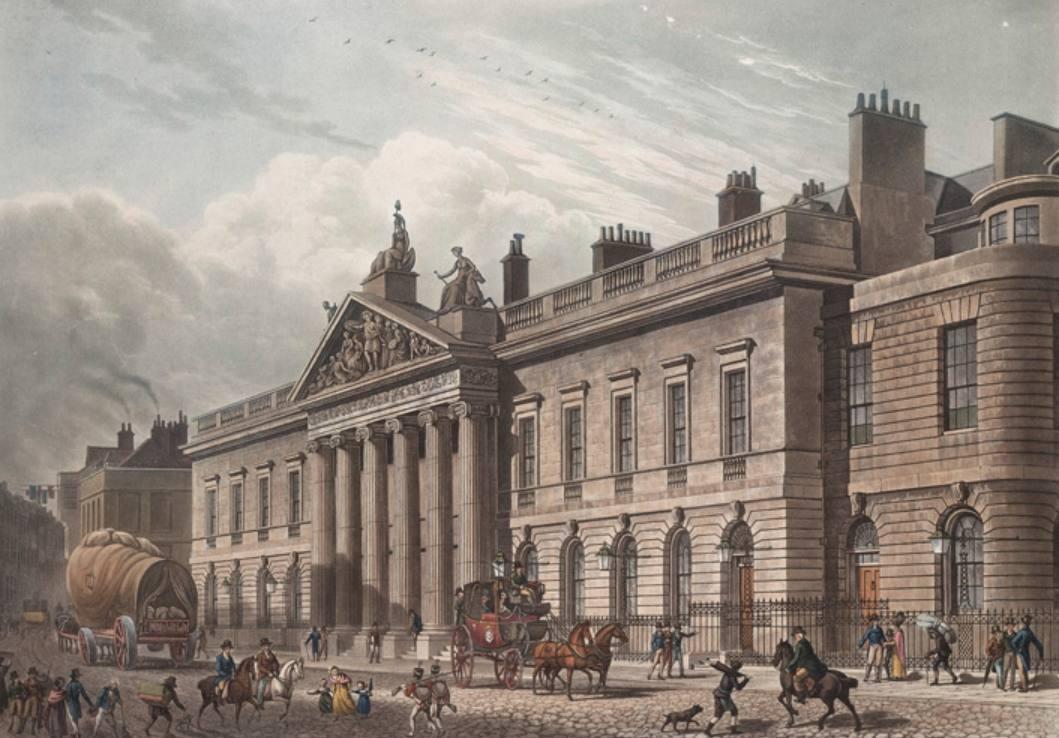 East India House in Londen - Thomas Hosmer Shepherd