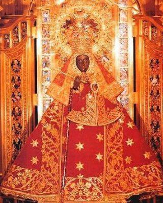 Het beeld van Onze-Lieve-Vrouw van Guadalupe