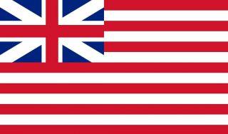 Vlag van de Britse East India Company, 1707-1801