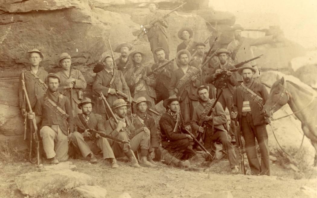 Boeren die deelnamen aan de Slag van Stormberg