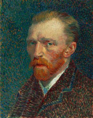 Zelfportret van Vincent van Gogh uit 1886