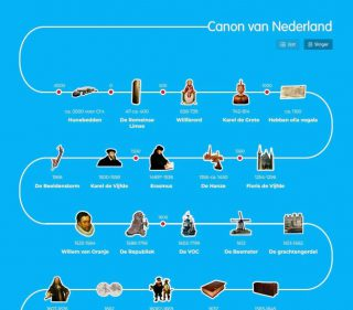 Canon van Nederland op entoen.nu