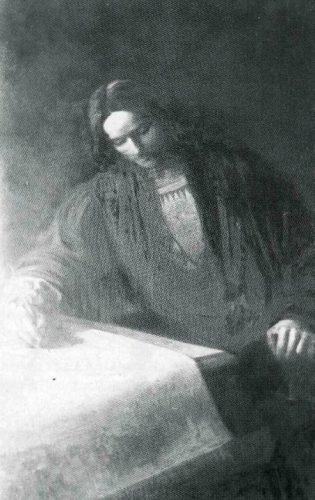 Negentiende-eeuwse afbeelding van Martin Waldseemüller