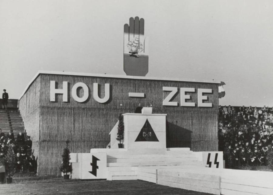 HouZee - NSB-bijeenkomst in Den Haag,  1941