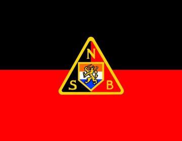 Vlag van de NSB (Nationaal-Socialistische Beweging)