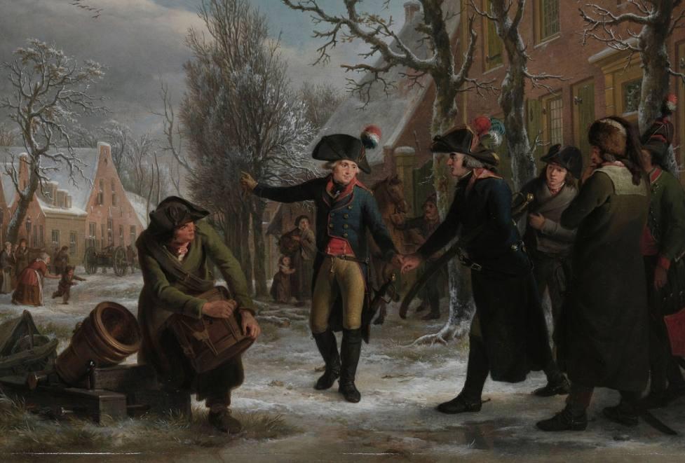 Krayenhoff en Daendels in 1795 - Begin van de Franse Tijd in Nederland