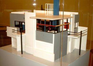 Maquette van het Rietveld Schröderhuis