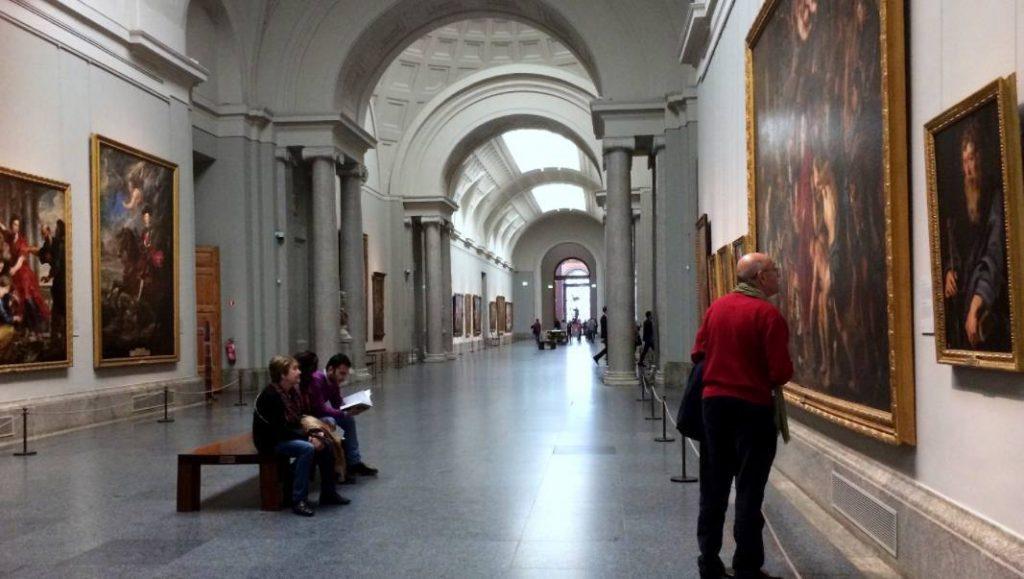 Blik in het Prado