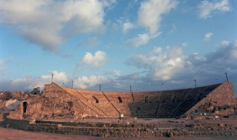 Romeins theater Caesarea Maritima