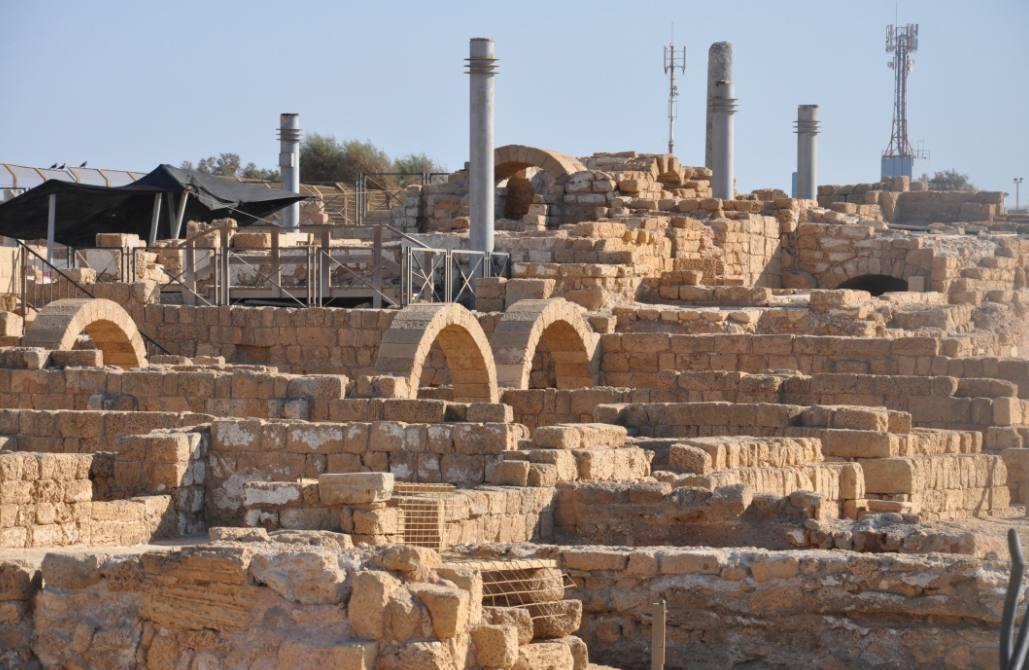 Opgraving te Caesarea Maritima