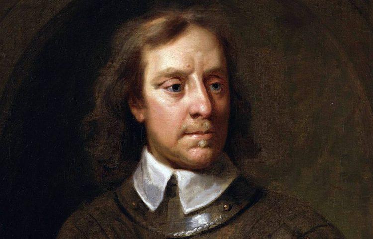 Oliver Cromwell - Portret door Samuel Cooper