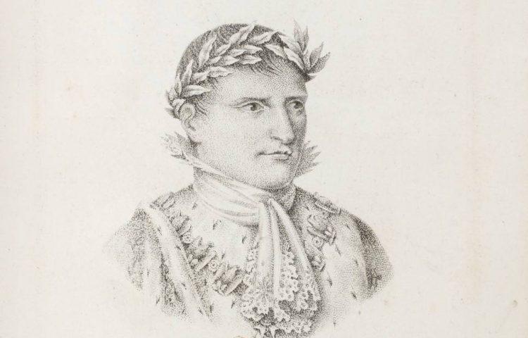 Afbeelding van Napoleon uit 1810