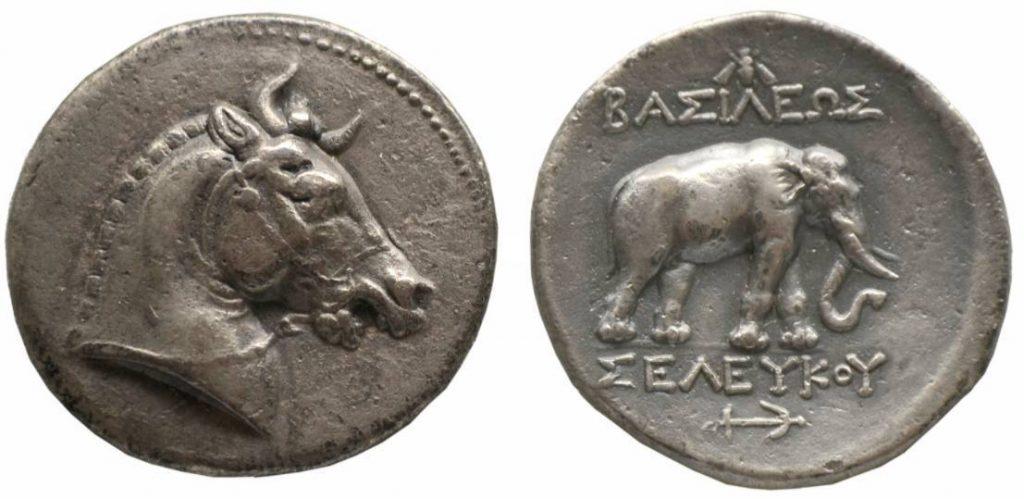 Tetradrachme van Seleucus I