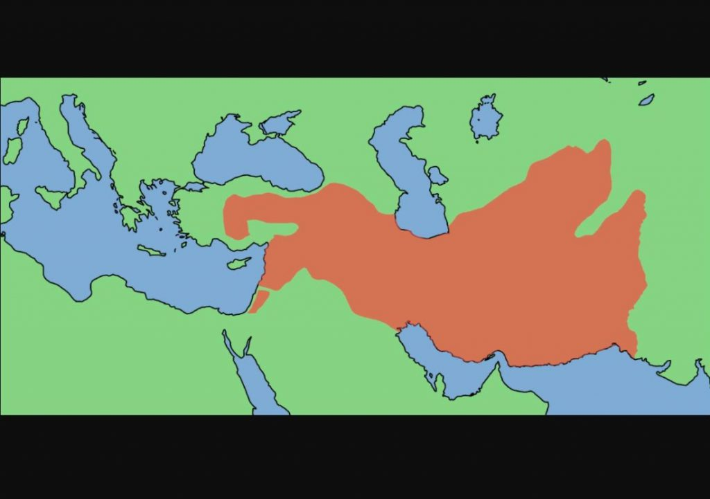 Het Seleucidische Rijk, ca. 300 v.Chr.