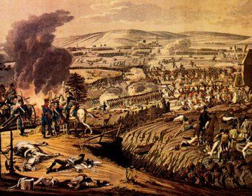 De Slag bij Jena en Auerstädt door Johann Moritz Rugendas