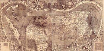 De Waldseemüller-kaart (1507) en de 'geboorte' van Amerika