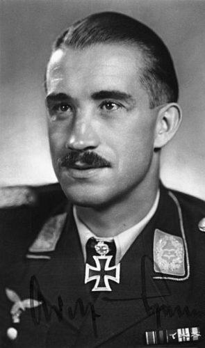 Adolf Galland in 1942