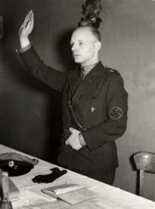 Bertus Smit, fascistisch politiek activist
