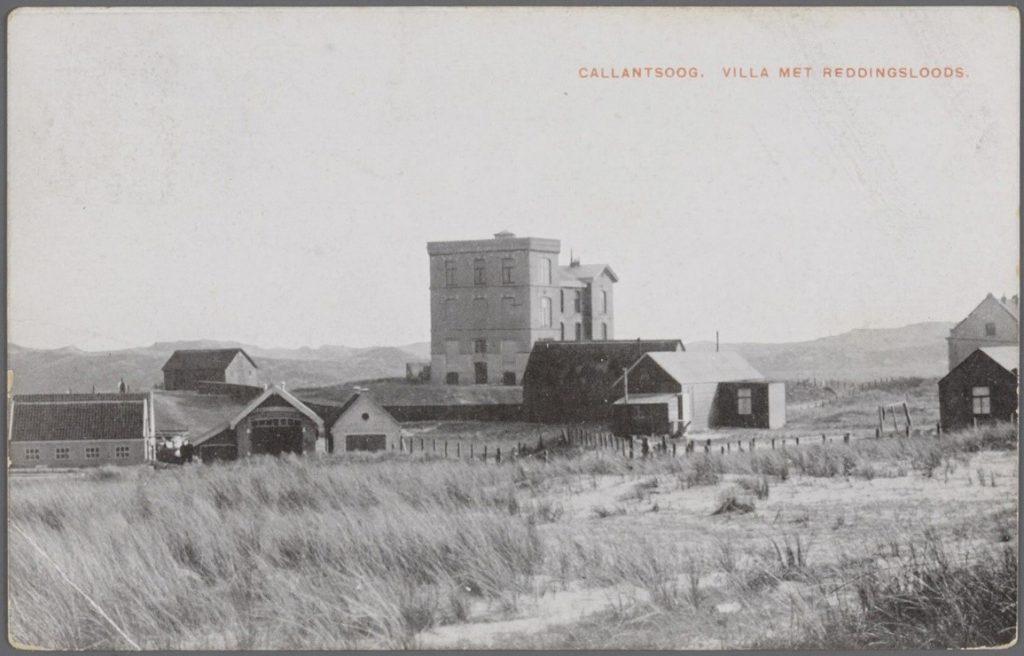 De Groote Villa in 1910 (Historische Vereniging Callantsoog)