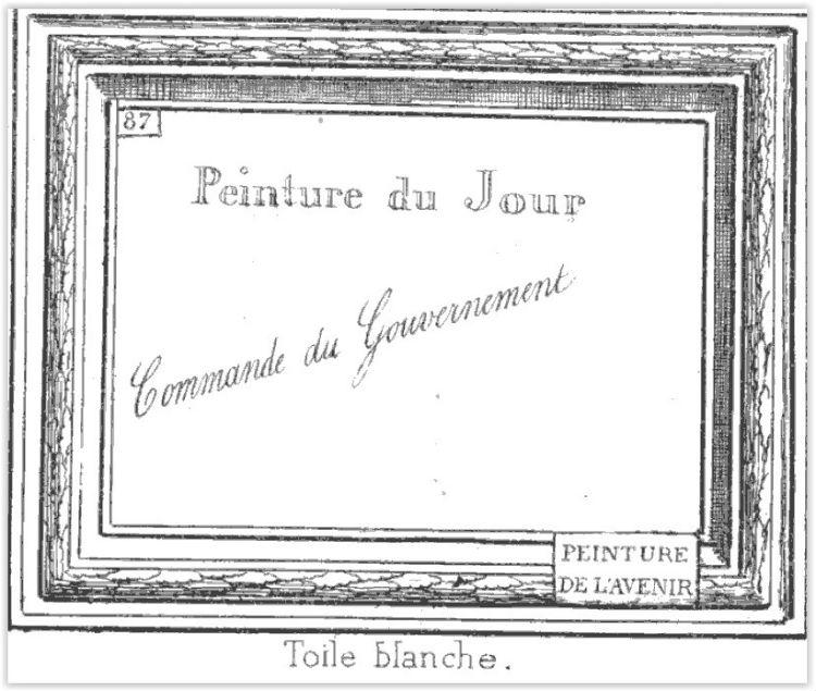 Toile Blanche -  Louis Ghémar, 1870