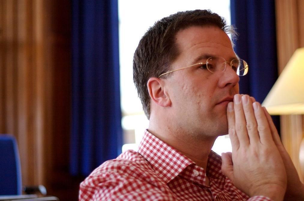 Mark Rutte als staatssecretaris in 2006