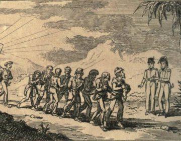 Christenslaven in Algiers - Walker Croker, 1815
