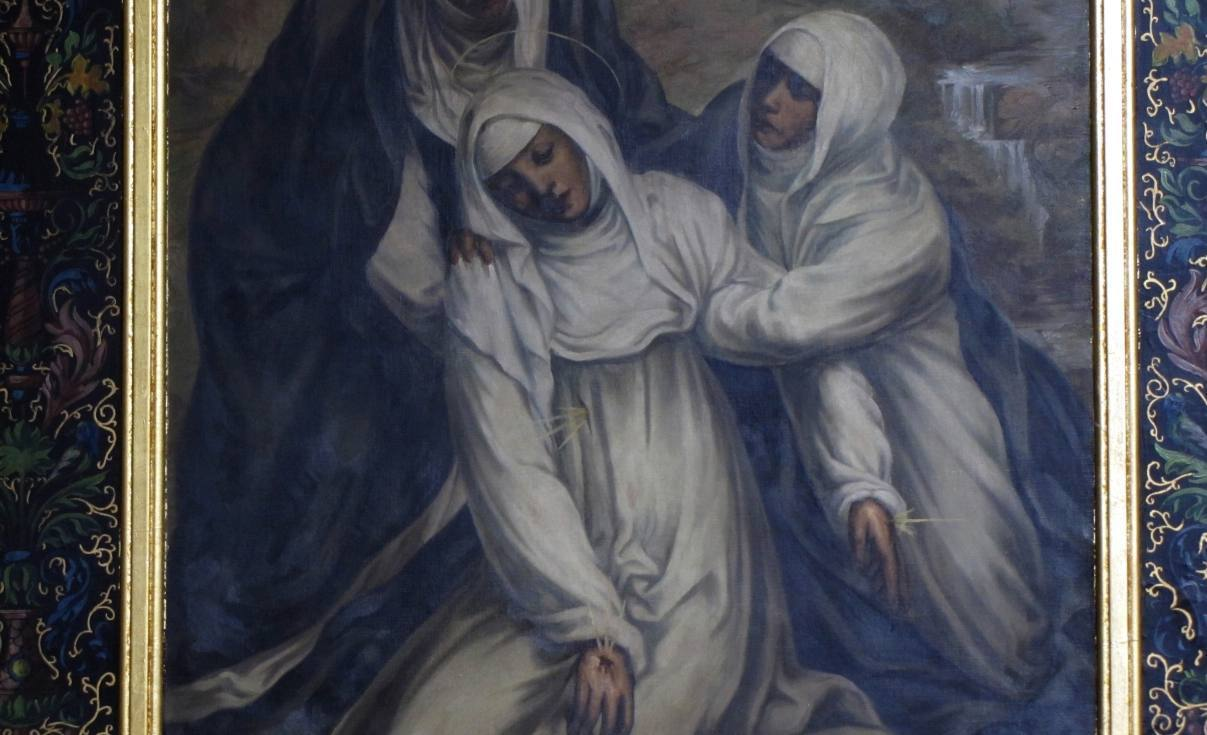 De stigmata van Catharina van Siena