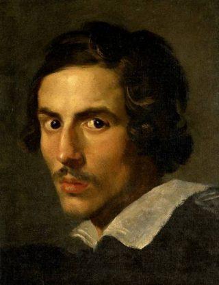 Zelfportret van architect en kunstenaar Gian Lorenzo Bernini