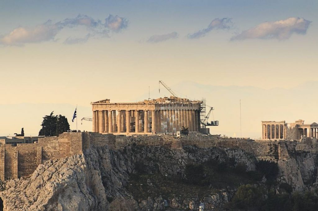 Parthenon op de Acropolis